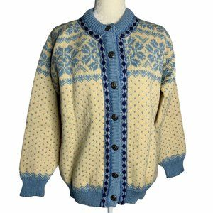 Vintage 60s Dale of Norway Cardigan Sweater XS
